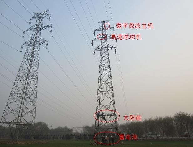 超高压输变电线路远距离无线视频监控