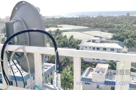 远距离无线骨干链路组网