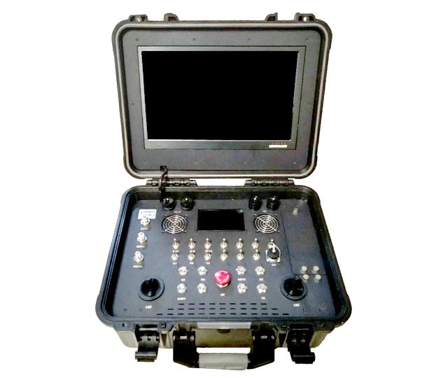 多路视频便携式无人机履带车远程控制台 LS-826