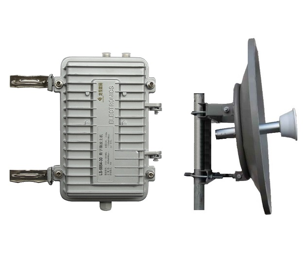 5.8G工业级远距离无线微波传输设备 LS-5854-30